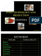 44950517 Chapter 6 Food Technology and Production