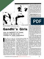 Gandhi's Girls