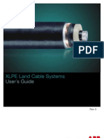 XLPE Land Cable Systems - User´s Guide