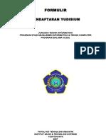 03 Form Pendaftaran Yudisium D3