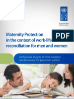 Maternity protection in the context of work-life reconciliation