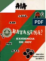 Atlas Politico-sindical Euzkadi Sur - Garaia [1976-9-9]