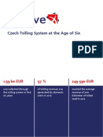 Czech Tolling System at the Age of Six