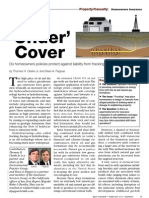 Under Cover - Do Homeowners Policies Protect Against Liability From Fracking Operations