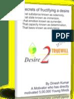 Desire 2 True Will