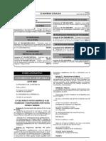 Gratificación - Ley 29351 que reduce costos laborales a gratificaciones