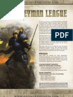 Journeyman League Rules