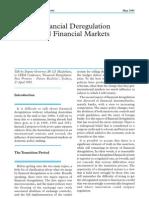 Deregulacija finansijskih trzista