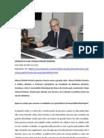ENTREVISTA AFONSO PINHÃO FERREIRA