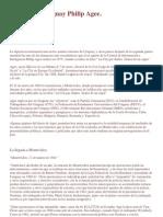 La CIA en Uruguay Philip Agee