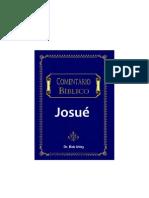Comentario Bíblico de Josue