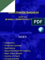 Bi Axially Oriented Poly Propylene