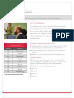 미국 CISL-Tutorial-Profile