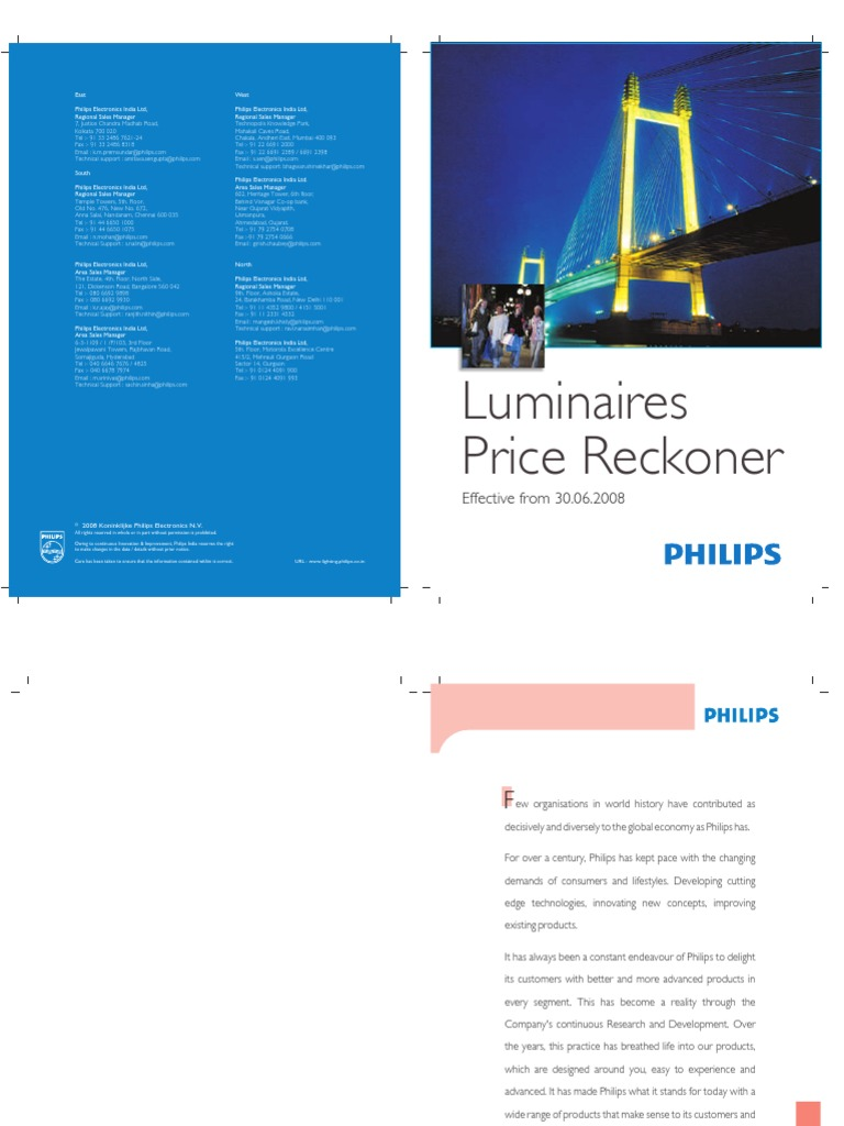 Luminaire Pricelist Lighting