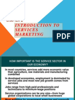1. Introduction to Service Marketing