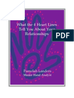 4 Heart Lines Tell You About Your Relationships