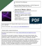 Adaptive Optics and Vision