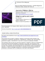 Adaptive Optics and Vision