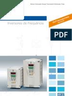 WEG Cfw 09 Inversor de Frequencia 10413064 Catalogo Portugues Br