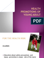 Health Promotions of Young Adult