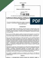 Decreto 0862 26 Abril 2013 - Retencion en La Fuente Impuesto CREE (1)
