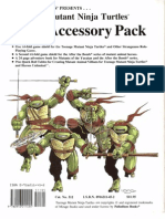 Teenage Mutant Ninja Turtles - Palladium - Accessory - RPG Accessory Pack