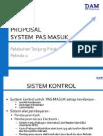 Proposal Pas Masuk Pelabuhan Tanjung Priok
