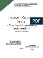 Isihasm, Kabbala, Yoga
