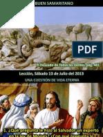 Lección 02 - El buen samaritano