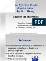Chap 11 Inferences