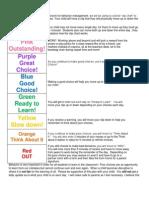 Clip Chart Explanation Letter 2013-14
