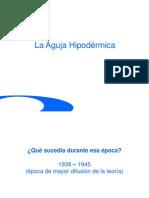Aguja-Hipodérmica