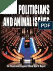 Irish Politicians and Animal Issues