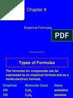 Empirical Formulas(68)