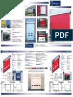 Depliant Porte Rapide Coprikompatt THUNDER 2013