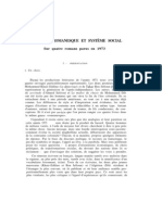 Structure Romanesque Et Systeme Social