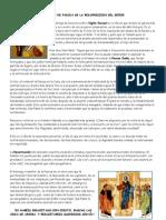 DOMINGO DE PASCUA DE LA RESURRECCION DEL SEÑOR
