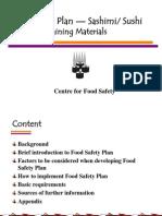 Sushi Food Safety Plan