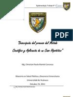 Descripcion Del Proceso Del Metodo Cientifico y Aplicacion Caso Hipotetico