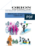 Orion Infusion Ltd