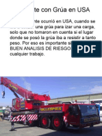 .Accidente con Grúa en USA