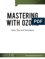 Mastering With Ozone