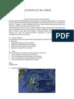Makalah Geologi Pulau Sulawesi