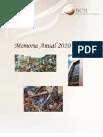 Memoria Anual 2010