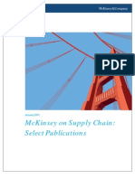 779922 McKinsey on Supply Chain Select Publications 20111