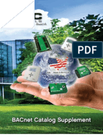 BACnet Catalog Supplement SP092A