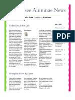 DZ TN Alumnae Newsletter 3