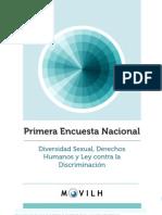Encuesta Nacional Diversidad Sexual