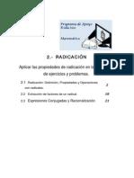 2- radicacion