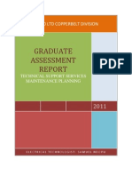 Maintenance Planning - Assessment Report.1.docx